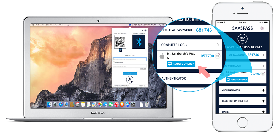 Apple Mac OS X Two Factor Authentication