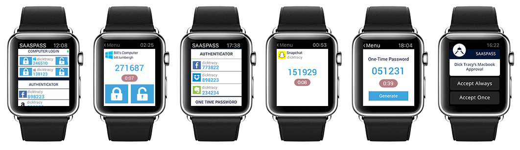 Apple Watch - Two-factor Authentication