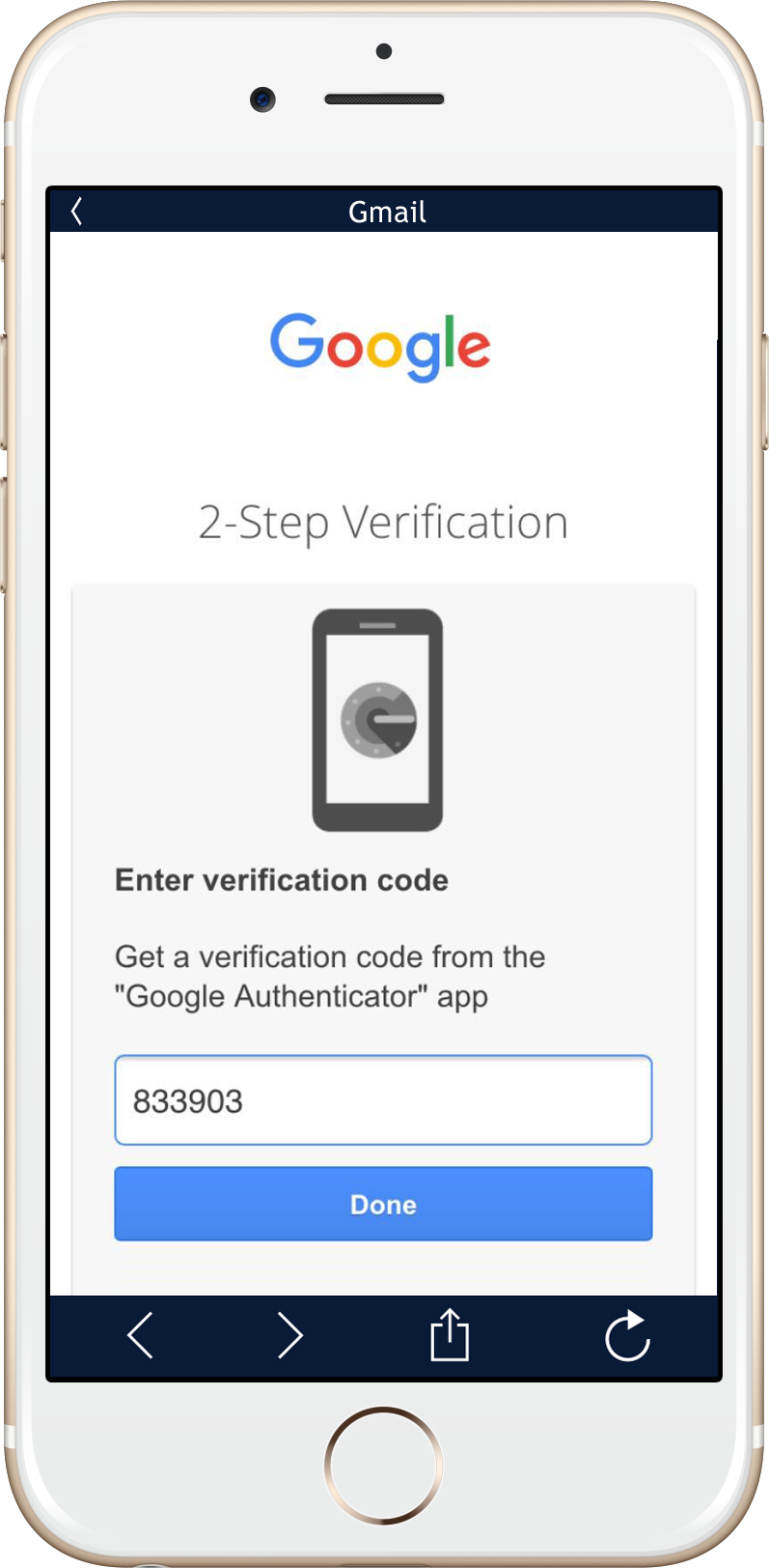 Two-step Verification Google Authenticator Two-factor