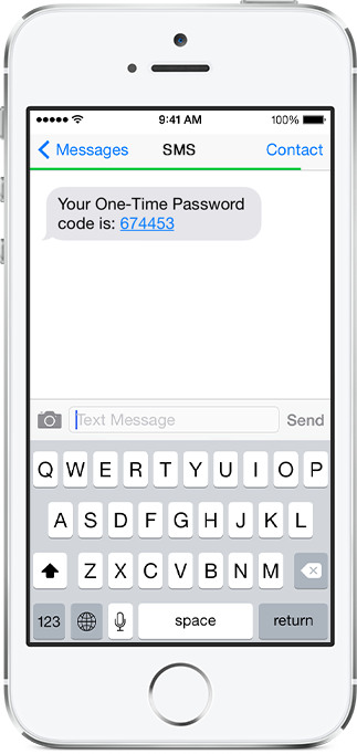 SMS Users - Two-factor Authentication | SAASPASS